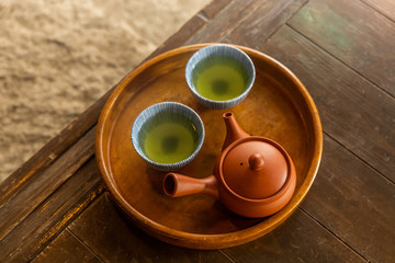 日本茶セット  Image of the Japanese green tea