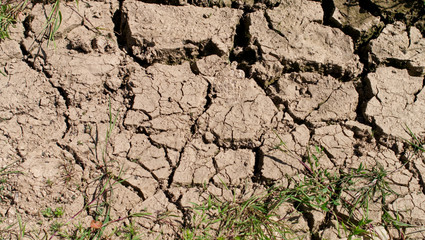 Dried mud, cracked earth, lack of rain, texture, background