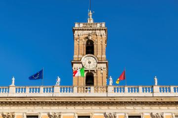 Capitol in Rome in Piazza del Campidoglio in Capitoline Hill, Rome, Italy.