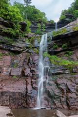 Kaaterskill waterfall in Catskill mountains, New York, USA