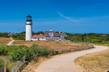 Highland Lighthouse in Cape Cod, Massachusetts.