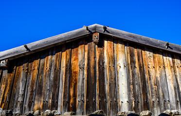 Wall Mural - hut at the european alps