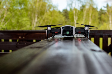 Obraz Dronem przez świat - fototapety do salonu