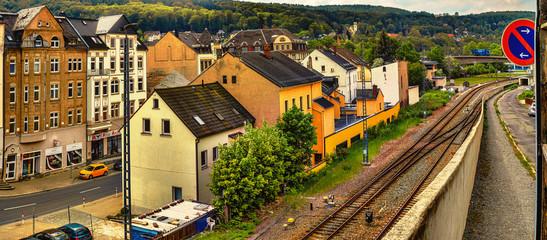Aue Erzgebirge Fototapete