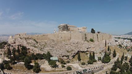 Canvas Prints Athens Parthenon On Acropolis Against Sky