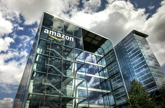 Amazon Headquarters in Munich, Germany - May 24, 2020