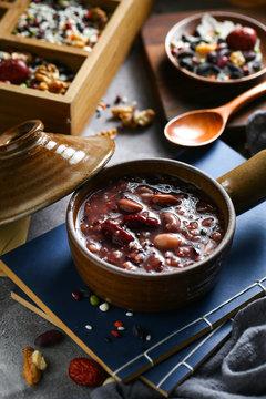 eight treasure porridge in bowl