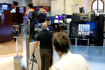 New York Stock Exchange opens during COVID-19