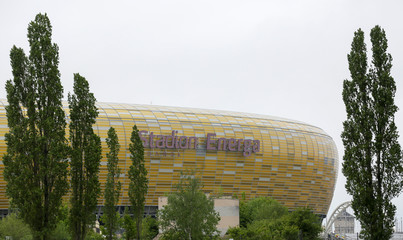View of the Stadium Energa in Gdansk