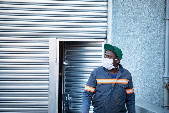 African worker