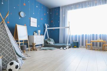 Wall Mural - Interior of modern children's room
