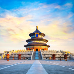 Tian Tan - The Temple of Heaven - the Hall of Prayer for Good Harvests in Beijing, China