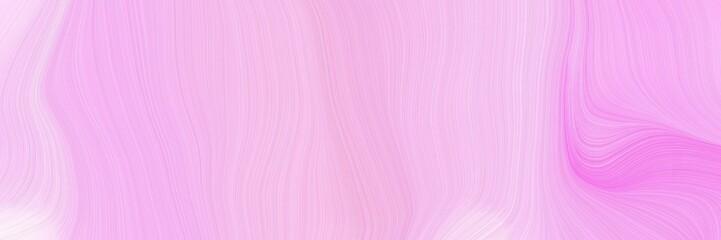 Foto auf Gartenposter Flieder landscape orientation graphic with waves. curvy background design with pastel pink, violet and lavender blush color