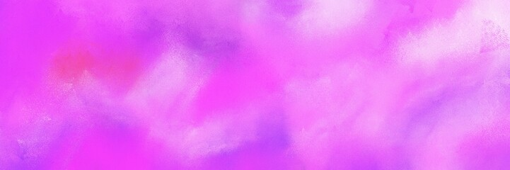 abstract antique horizontal background design with violet, orchid and pastel pink color. can be used as header or banner Wall mural