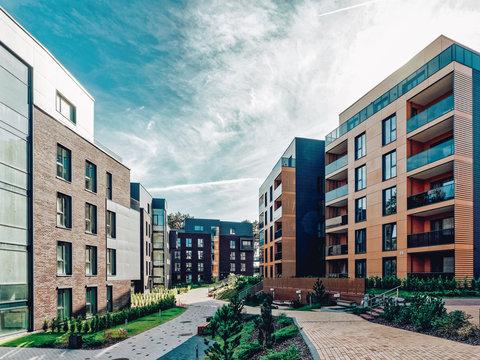 Europe Modern european complex apartment buildings_4x3