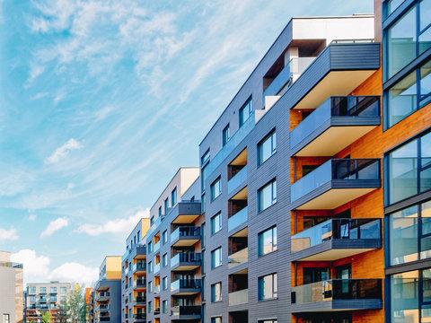 European modern complex of residential buildings_4x3