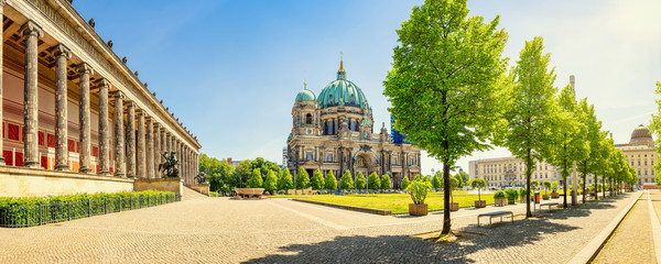 panoramic view at the berlin cathedral