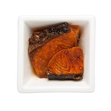 Asian cuisine - Pan griiled teriyaki salmon