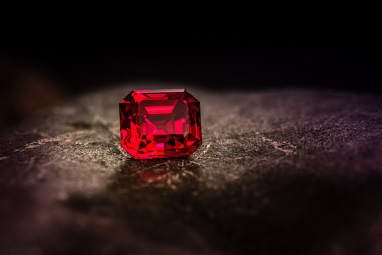 Red Ruby Gemstone