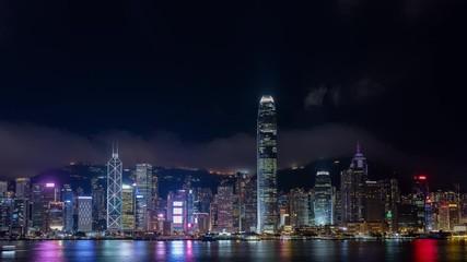 Wall Mural - Hong Kong timelapse