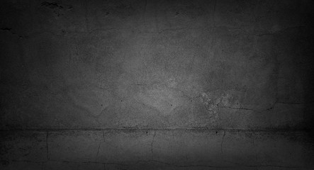 Wall Mural - Grey cracked concrete