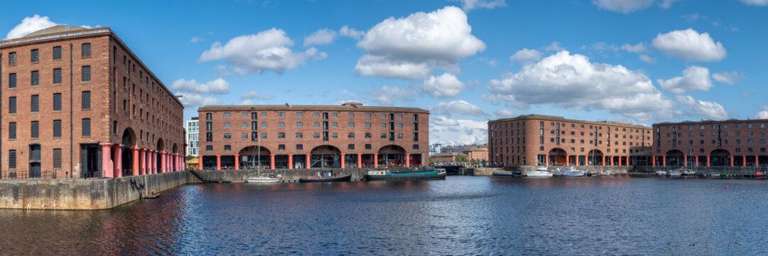 The Royal Albert Dock in Liverpool
