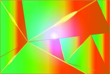Papiers peints Echelle de hauteur abstract background with rainbow