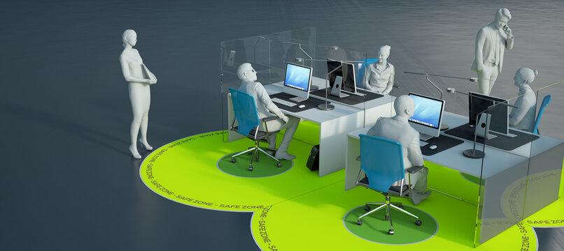 Covid safe office design