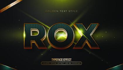 bold gold blue text