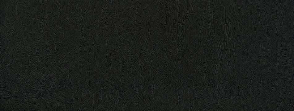 Black leather texture banner