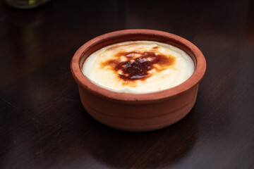 Türkisches Dessert Pudding - türkisch kochen: Pudding
