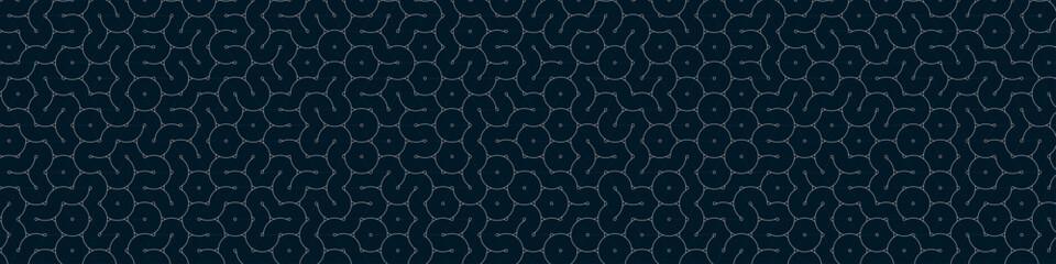 Colour Hehagon Tile Connection art background design illustration