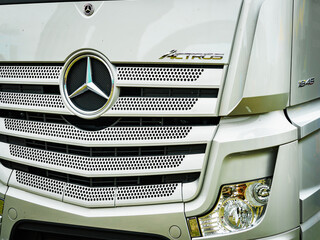 Mercedes-Benz Actros truck, 20 September 2019, Poznan Poland