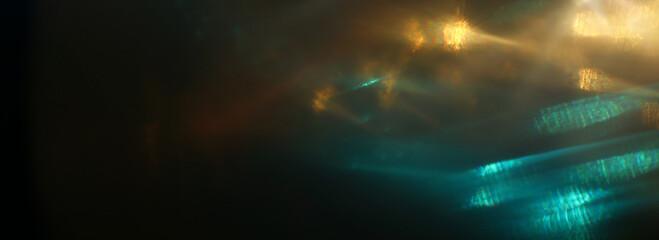 Fototapete - abstract image of lens flare. light leaks