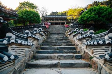 Seoknamsa temple in Anseong, Korea
