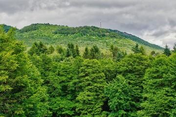 Počúvadlo is a village and municipality in Banská Štiavnica District, in the Banská Bystrica Region of Slovakia. Forests around the village.
