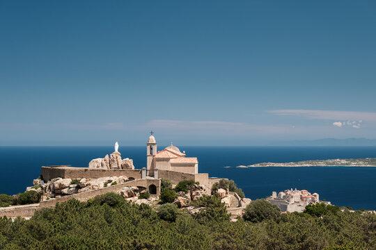 Notre Dame de La Serra at Calvi in Corsica