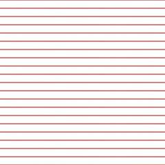 Papier quadrillé. Abstrait rayé avec des lignes horizontales de couleur. Motif géométrique harmonieux pour l& 39 école, papier peint, textures, ordinateur portable. Papier ligné vierge isolé sur fond transparent.