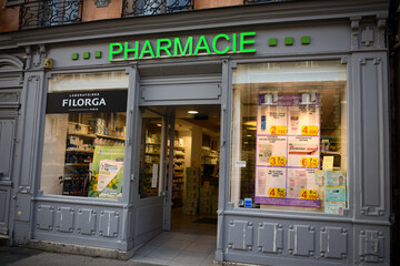 Photo sur Plexiglas Pharmacie pharmacy signboard