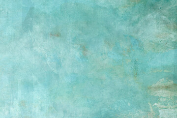 Blue-green splattered backdrop