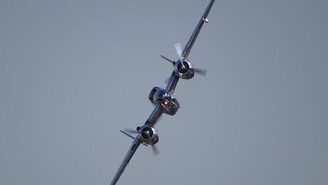 B-25 Mitchell Medium Bomber Inflight