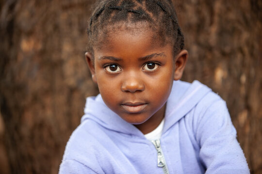 portrait African girl