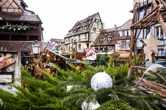 Colmar, Alsace, France. Petite Venice for christmas .