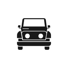 Wall Murals Cars Car icon. Simple vector transport icons for ui and ux, website or mobile application