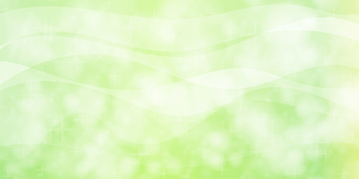 Green Sparkle Background Illustration Design