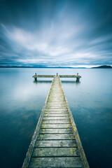 New Zealand - Rotorua - Jetty - Lake