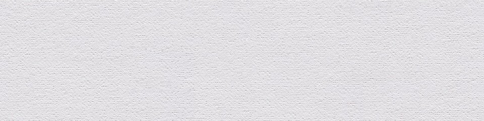 Acrylic canvas background in elegant white color for your design look. Seamless panoramic texture.