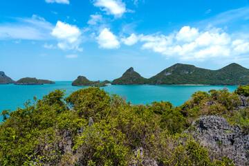 Koh Mae Mother Island in Ang Thong National Marine Park