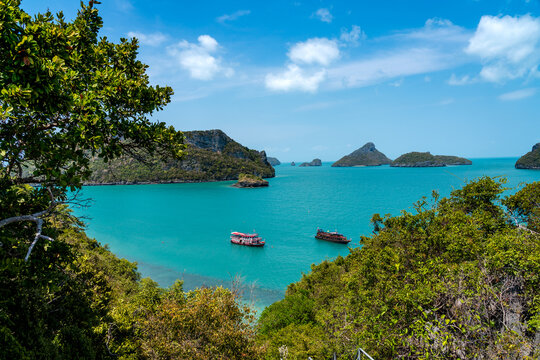 Koh Mae Mother Island in Ang Thong National Marine Park