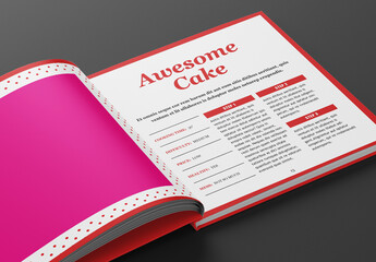 Dessert Book Layout